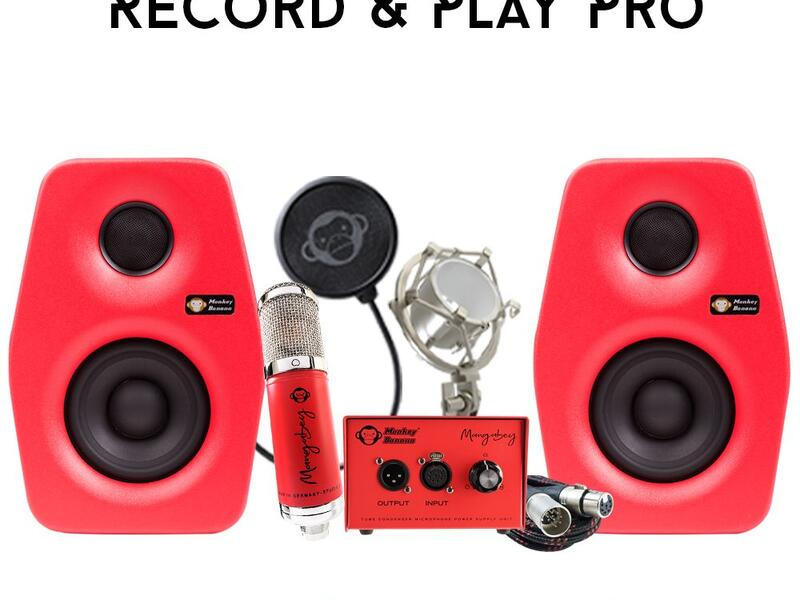 Monkey Banana Record & Play Pro Set