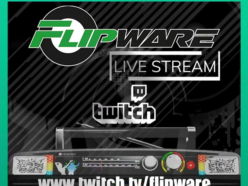 Flipware Twitch Livestream