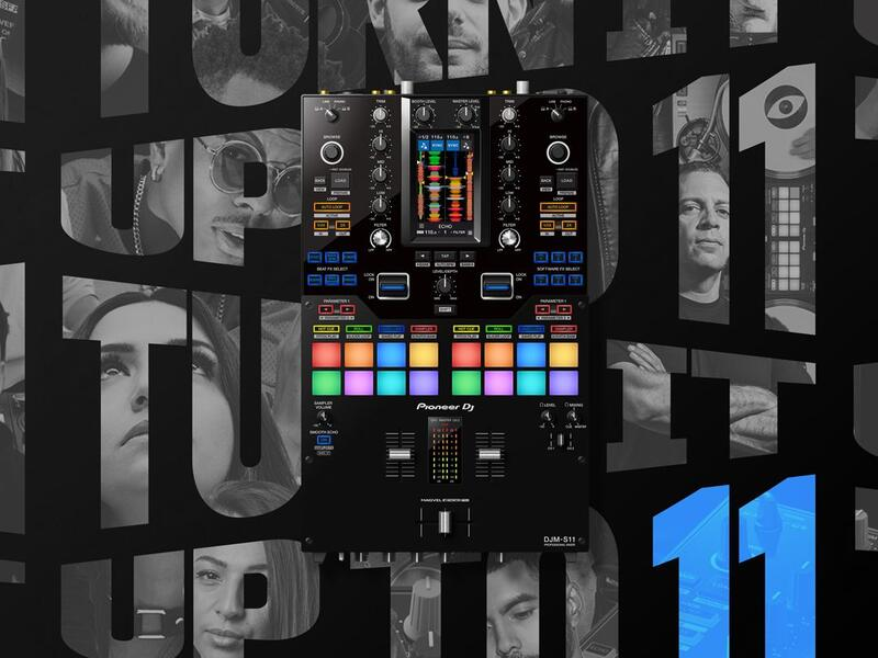 Pioneer DJM-S11 - Turn it up to 11