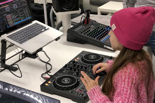 DJ-Schule für Kinder