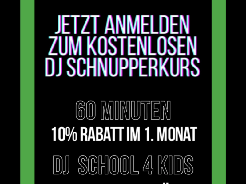 Flipware DJ-Schule Ludwigsburg Sommer-Aktion 2021